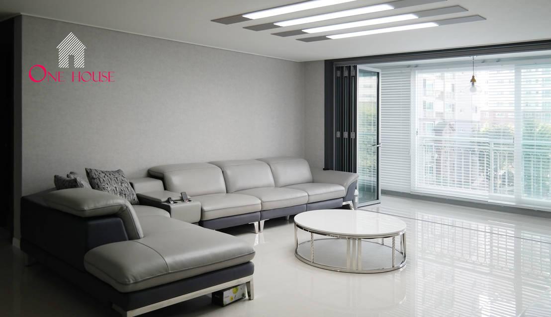 현대적인 디자인 감각으로 세련미를 더한 아파트 인테리어
