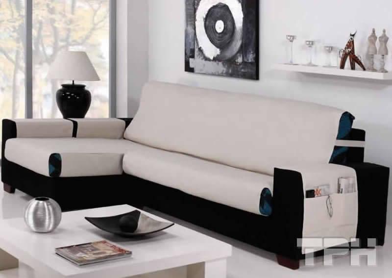 Cubre sillones para proteger los sof s de tph fundas de sof homify - Fundas elasticas para sillones ...