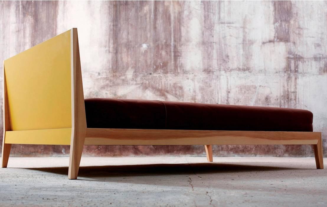 m190x bettgestell in moderner optik von mint von gabler24. Black Bedroom Furniture Sets. Home Design Ideas
