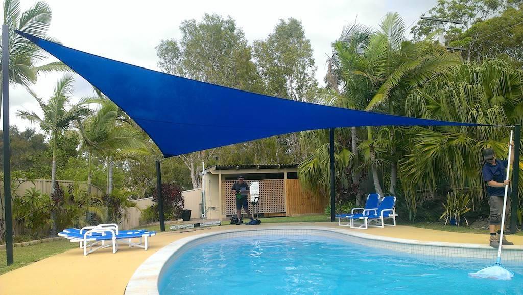 Toldos para piscinas por sombralux homify for Toldos para piscinas