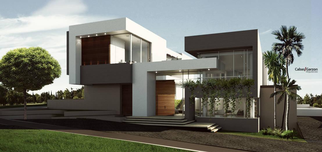 7 fachadas en 3d que te inspirar n a dise ar la casa de for Disenar mi casa en 3d