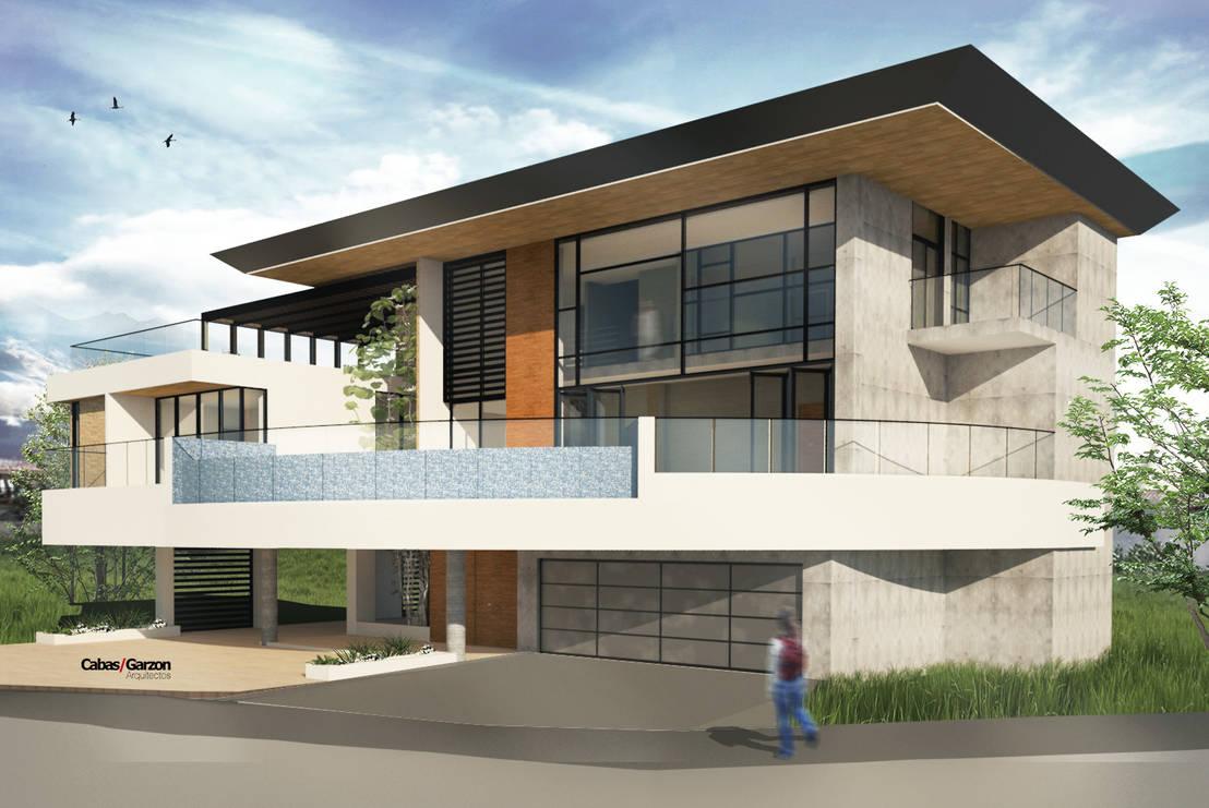 Casa o m punta roca 2016 por cabas garzon arquitectos for Homify casas