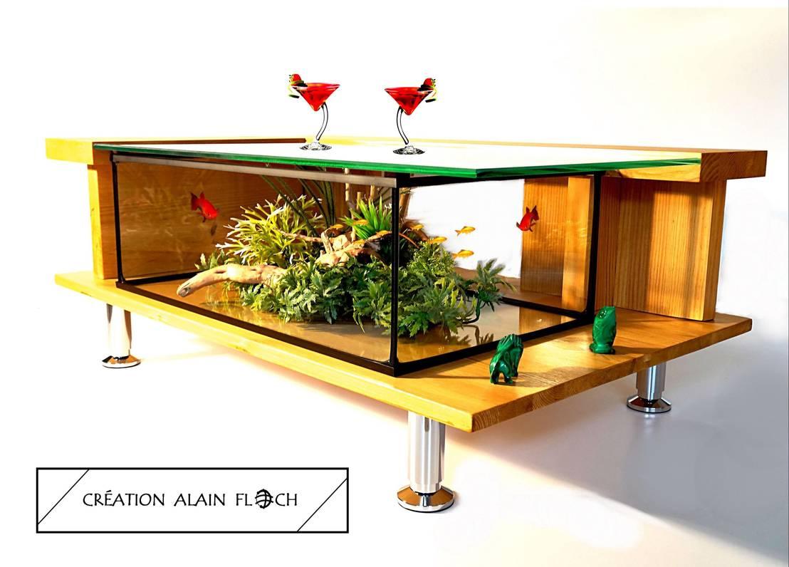 table basse lagon bleu de vpa design homify. Black Bedroom Furniture Sets. Home Design Ideas