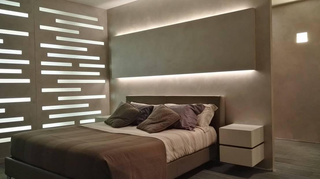 Illuminazione camera da letto di formarredo due design for Illuminazione camera da letto matrimoniale