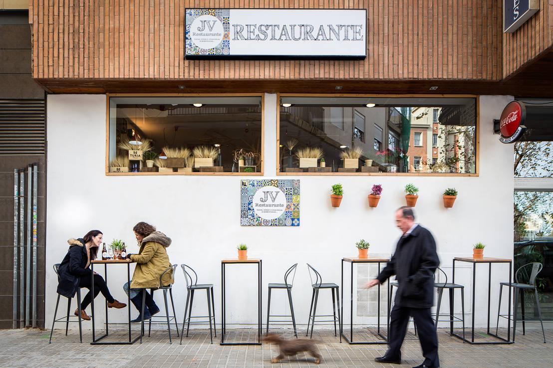 Terraza restaurante julio verne von globo estudio homify - Restaurante julio verne ...