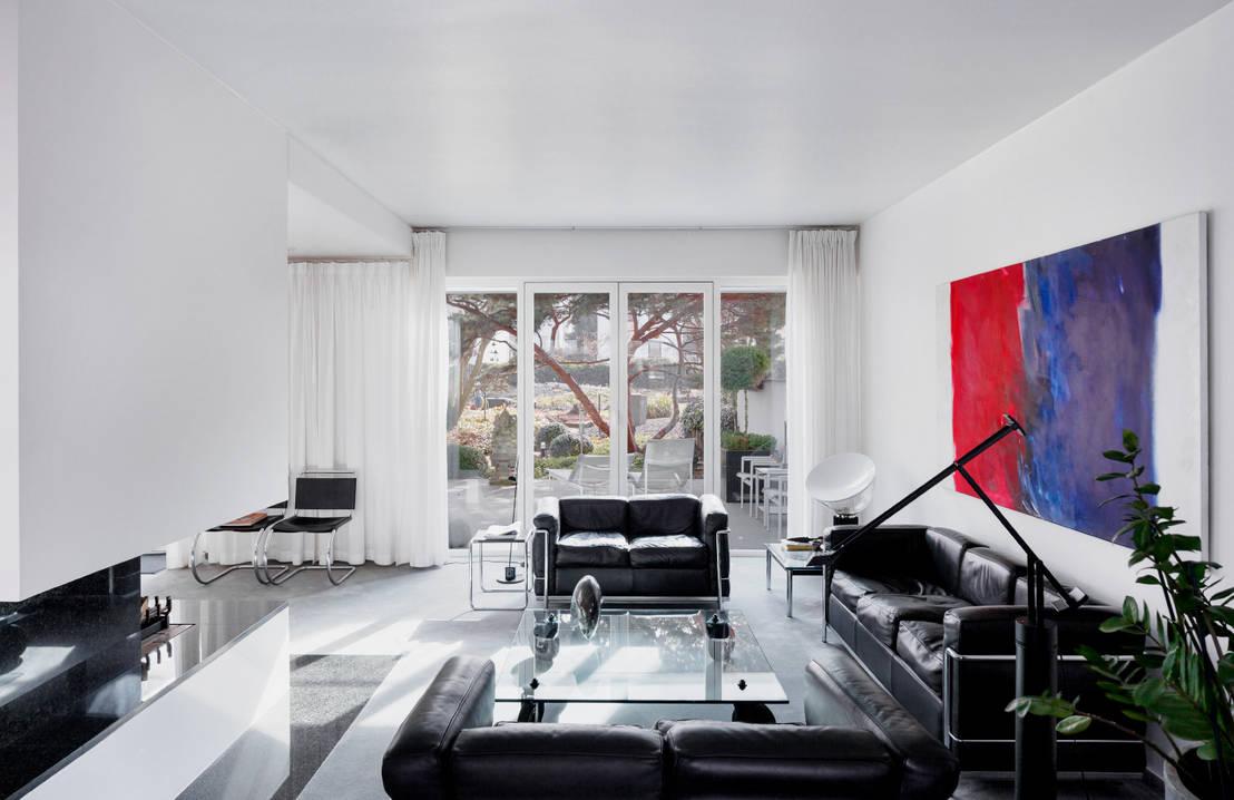 nachhaltige gestaltung wohnung im bauhaus stil von. Black Bedroom Furniture Sets. Home Design Ideas