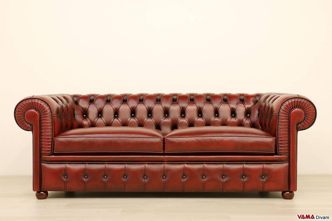 Divani chesterfield di vama divani homify - Divano pelle vintage ...