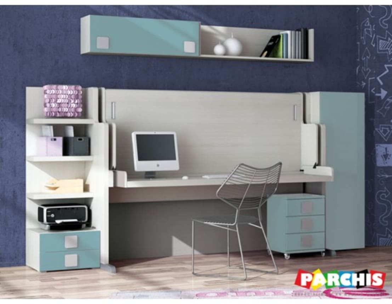 Muebles convertibles para espacios reducidos en albacete for Muebles parchis