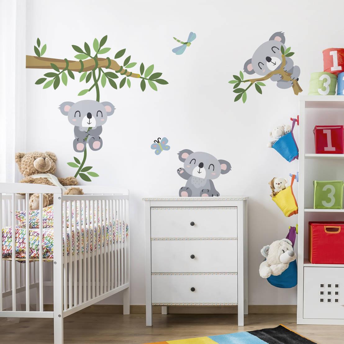 Kinderzimmer gestalten - Einfache Ideen für Kinderzimmer Makeover ...