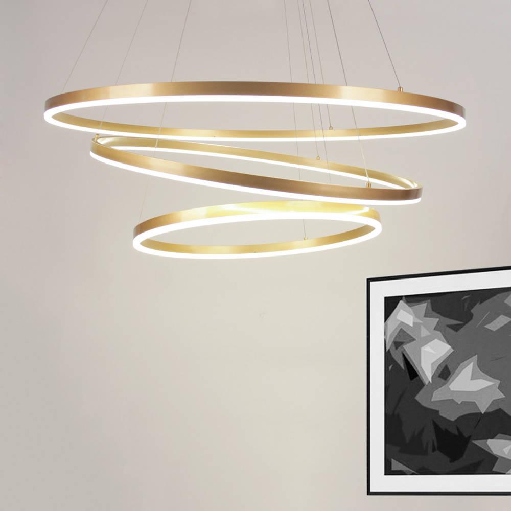 licht design skapetze gmbh co kg s luce ring limited led ringe mit 60 80 100 cm in. Black Bedroom Furniture Sets. Home Design Ideas