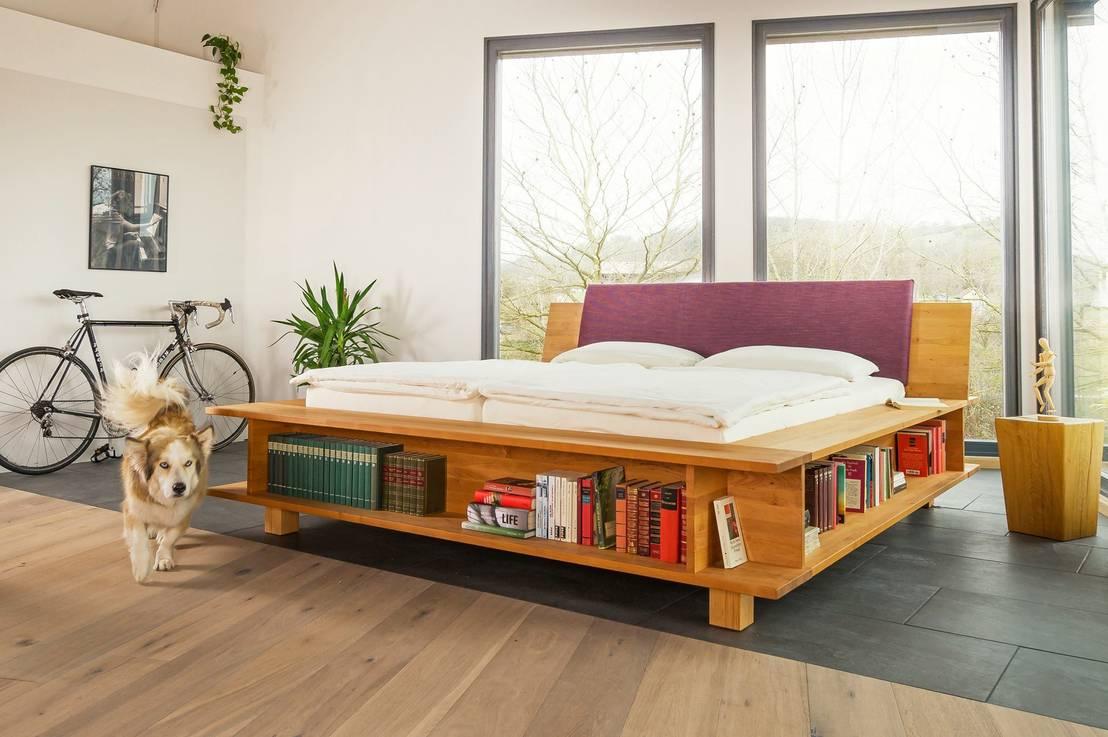 Massivholzbetten design  LIGNUM Möbelmanufaktur: Massivholzbetten | homify