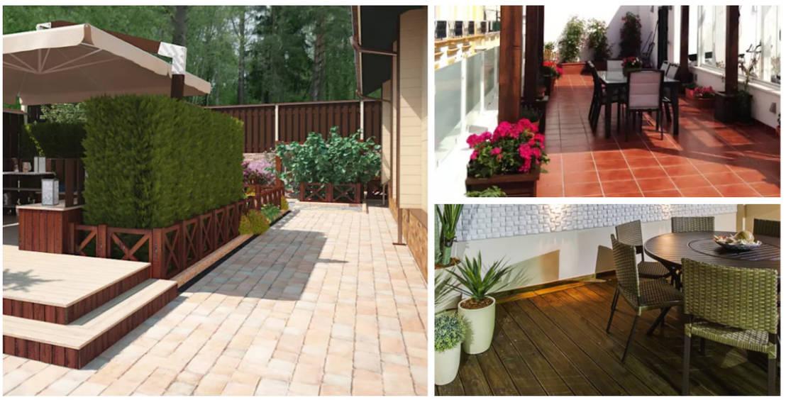 Terra os e p tios 16 ideias de pisos que deve ver o for Ver pisos para patios