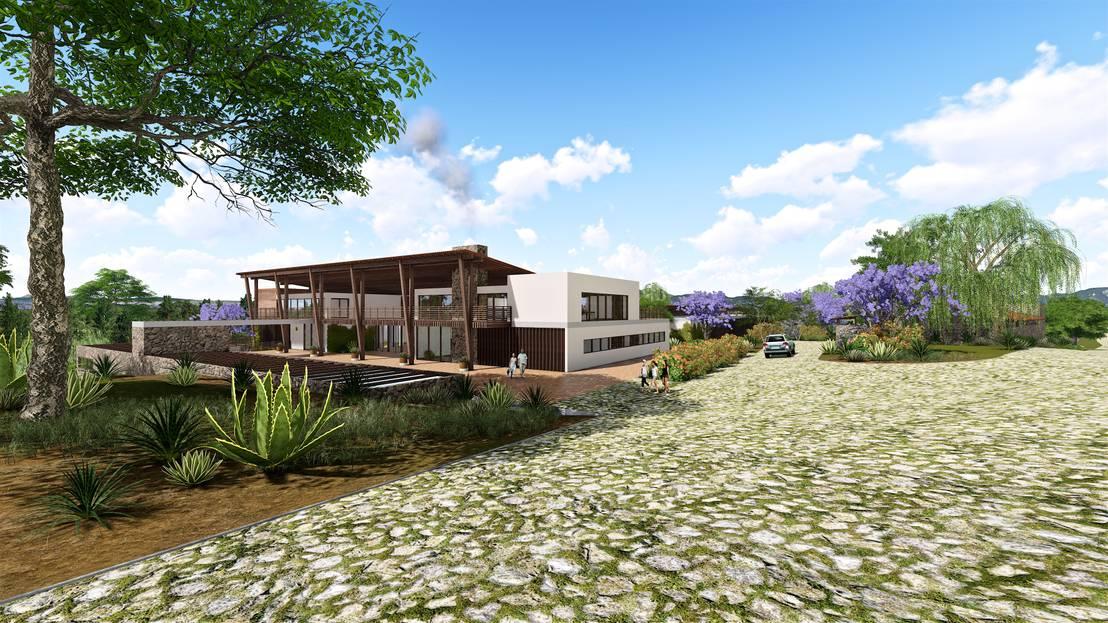 Casa de campo en agua blanca hidalgo de bim arquitectos for Homify casas de campo