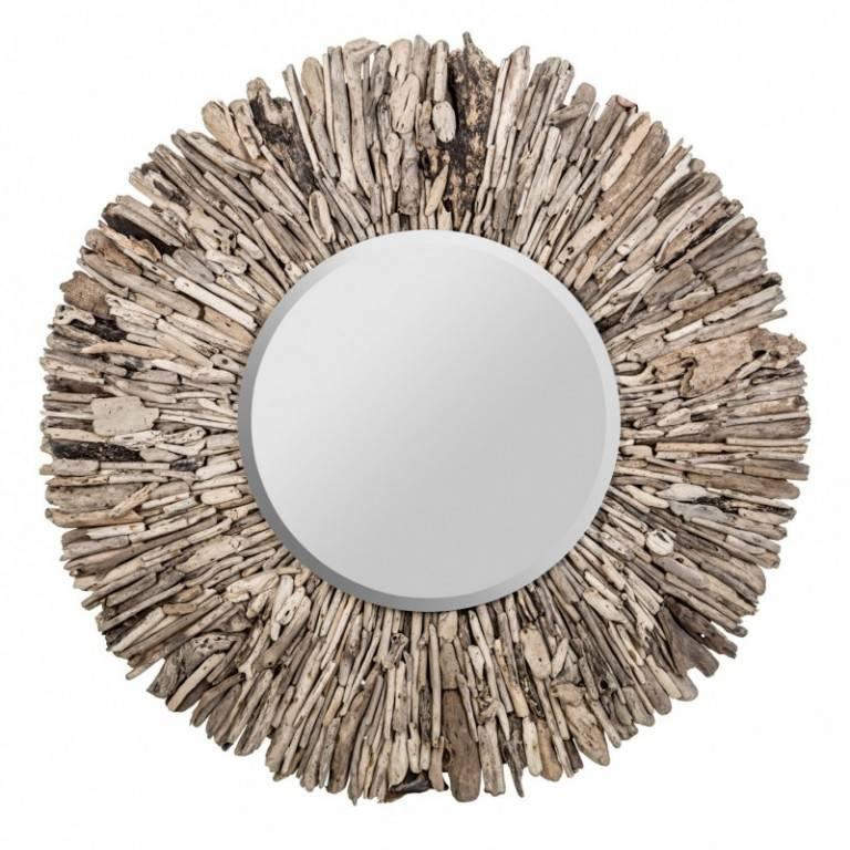 Espejos escandinavos de centro espejos homify for Espejo redondo madera