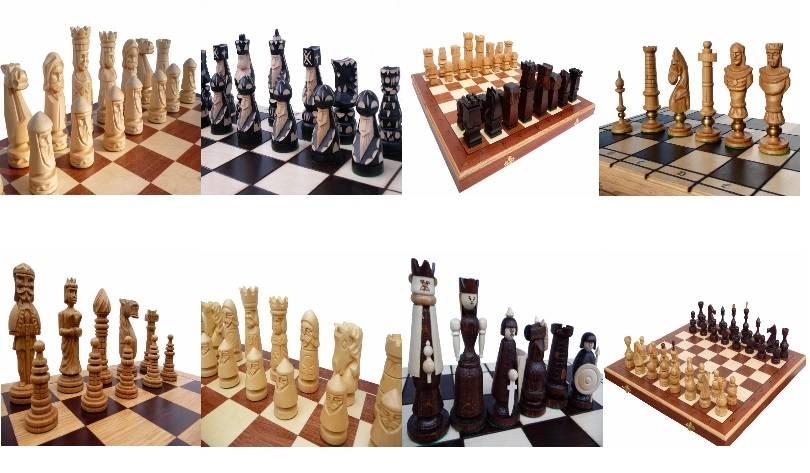 edles gro es schach schachspiel handgeschnitzt geschnitzt. Black Bedroom Furniture Sets. Home Design Ideas
