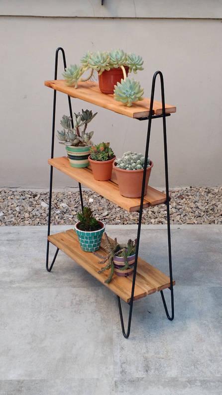 Maceteros portamacetas by tienda quadrat homify - Maceteros de madera ...