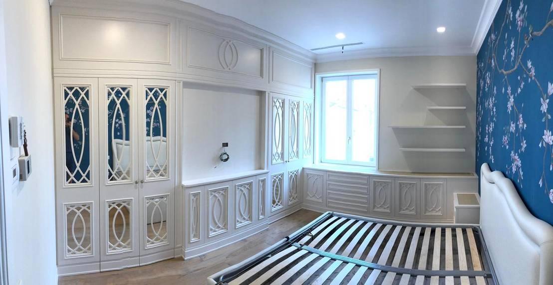 Cabina armadio in camera da letto di Falegnameria su misura ...