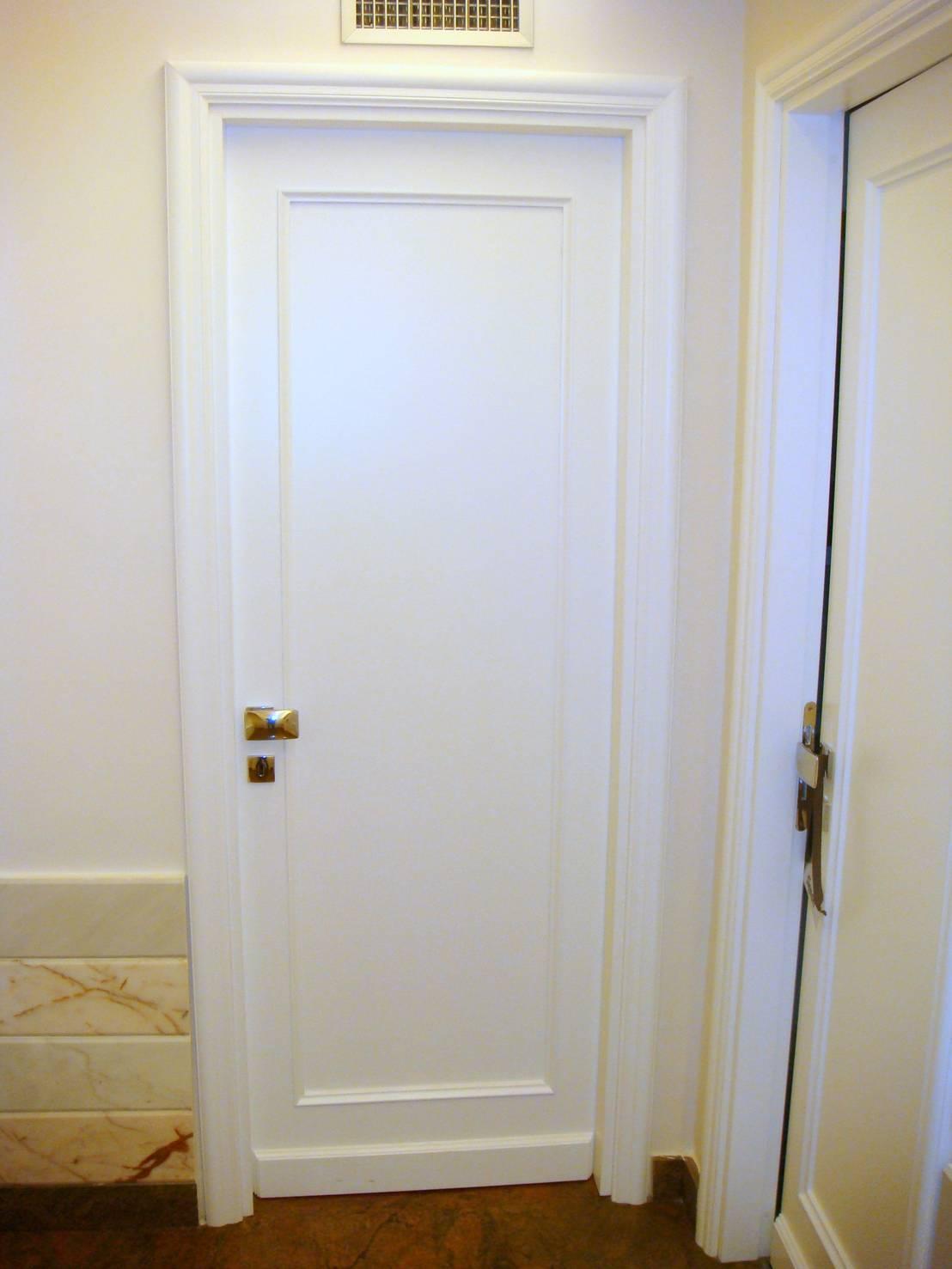 Porte Bianche Laccate Prezzi porte laccate bianche- fatte bene su misura di falegnameria