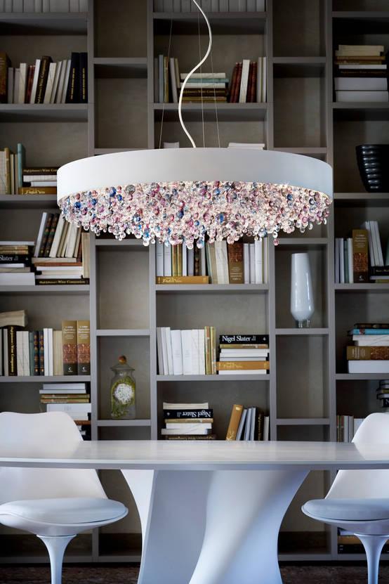 kristall lampen. Black Bedroom Furniture Sets. Home Design Ideas