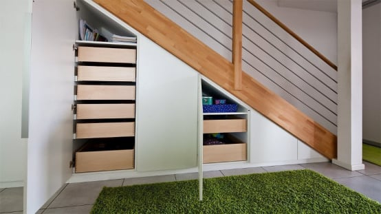 Maximising space in small homes