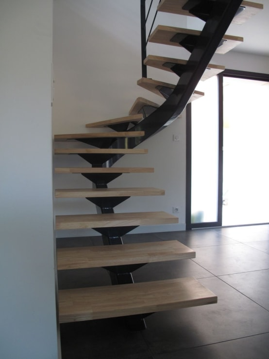 Homify - Escalier metallique design ...