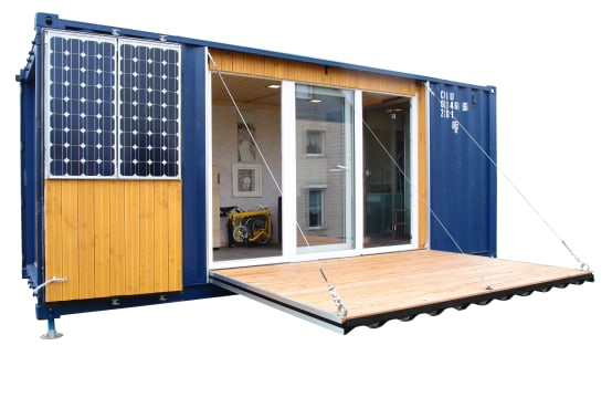 Different styles of container homes for the philippines for Moderne wohncontainer