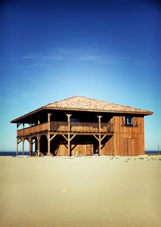 Homify 360 maison en bois au bord de la mer - Maison bois bord de mer ...