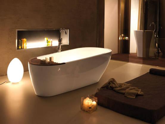 wellness zu hause entspannen in der badewanne. Black Bedroom Furniture Sets. Home Design Ideas