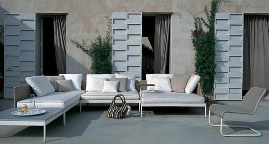 5 idee per il salotto esterno for Salotto da terrazzo
