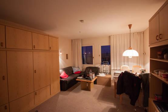vorher nachher versch nerung einer wohnung. Black Bedroom Furniture Sets. Home Design Ideas