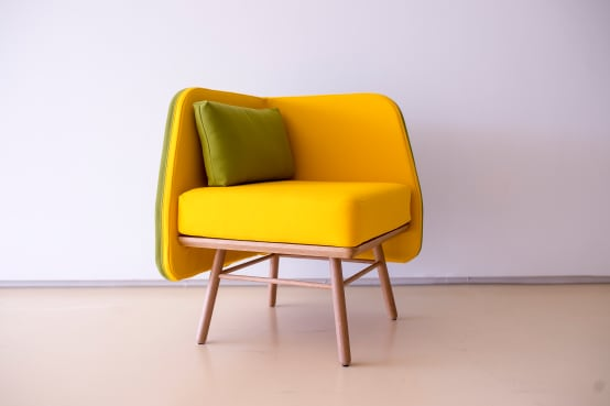 m bel und accessoires in sonnengelb. Black Bedroom Furniture Sets. Home Design Ideas