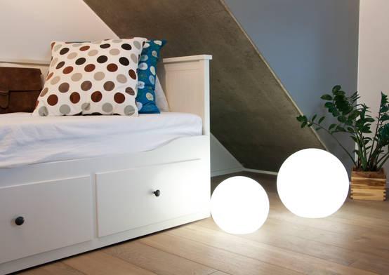 dekorative leuchten f r innen und au en. Black Bedroom Furniture Sets. Home Design Ideas