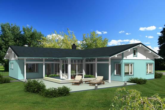 Liebe auf den ersten blick 8 kleine bungalows baupl ne for Case moderne ad un piano