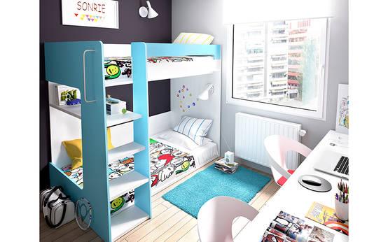 Decoraci n de rec maras infantiles 10 camas literas muy - Literas infantiles divertidas ...