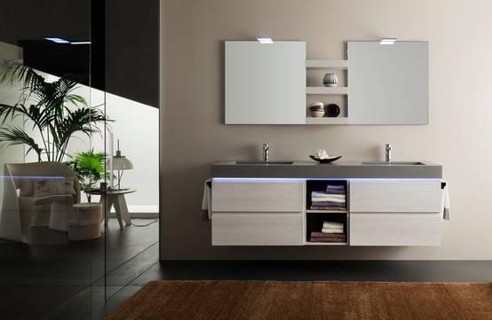 9 nuove tendenze d 39 arredo 2018 per il bagno - Mobiles badezimmer ...