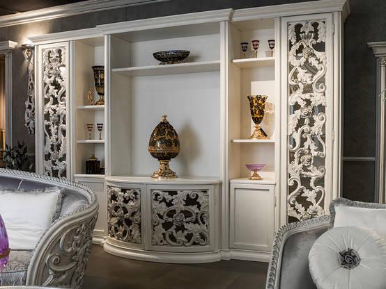 Mobili in stile barocco consigli e esempi di arredamento for Esempi di arredamento