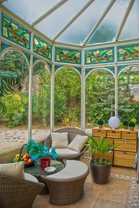 6 jardins d 39 hiver entre int rieur et ext rieur for Interieur et jardin