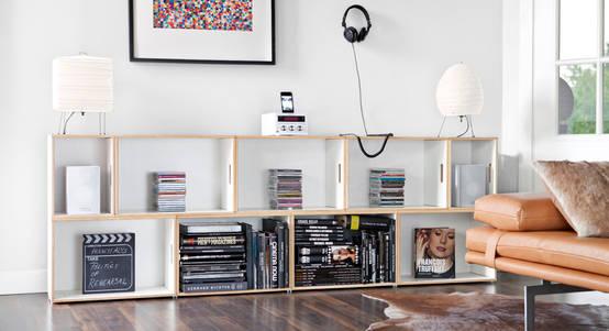 8 diseños con estantes modulares ¡espectaculares!
