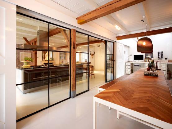 10 wundersch ne schiebet ren f r die k che. Black Bedroom Furniture Sets. Home Design Ideas