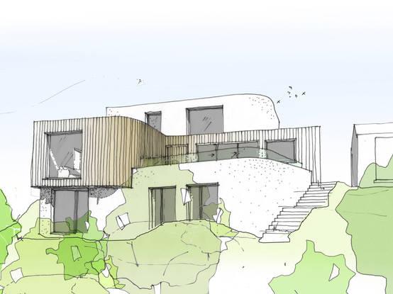 No te pierdas estos tips para dibujar como un arquitecto - Casas dibujadas a lapiz ...
