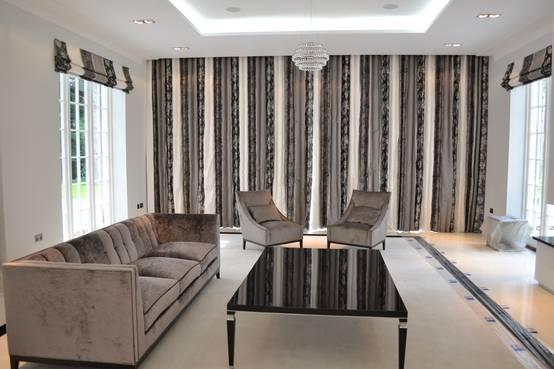Persianas y cortinas para casas modernas for Cortinas de casas modernas