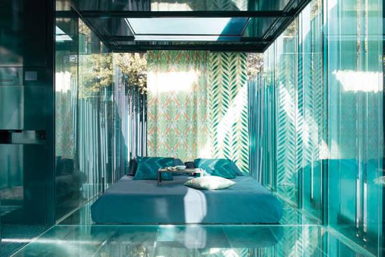 sch ner wohnen mit gardinen 10 sommerfrische ideen. Black Bedroom Furniture Sets. Home Design Ideas
