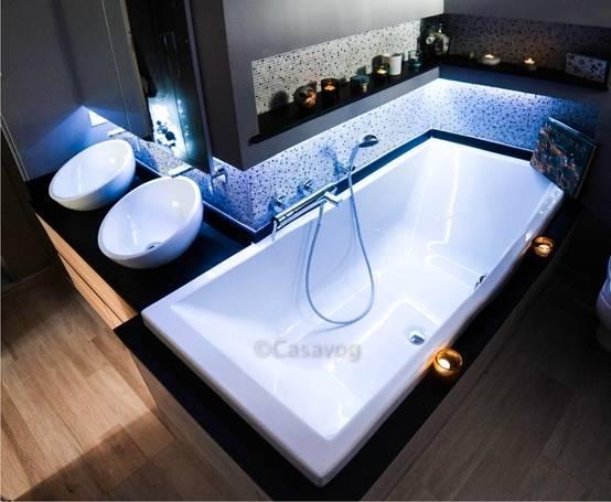 Réalisation d'une salle de bains dans 6 m2