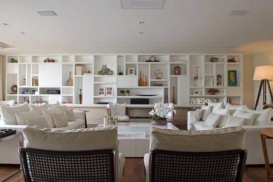 Armario Sala De Estar ~ 12 ideias de móveis embutidos para sua casa