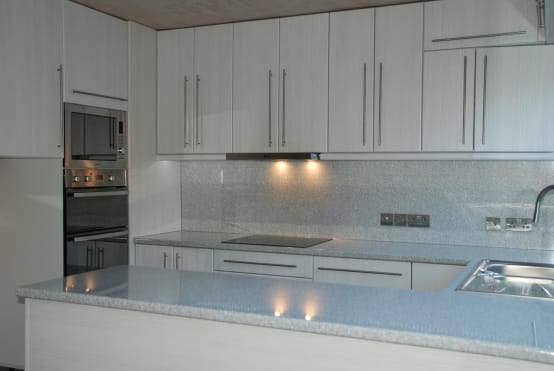 Oven area after renovation