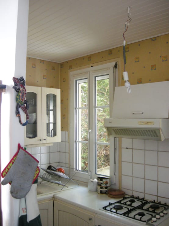 Una cucina orribile diventa moderna e accogliente for Casa moderna accogliente
