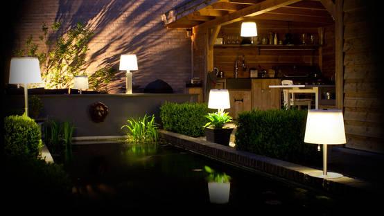 12 فكرة لإضاءة الفناء الخارجي