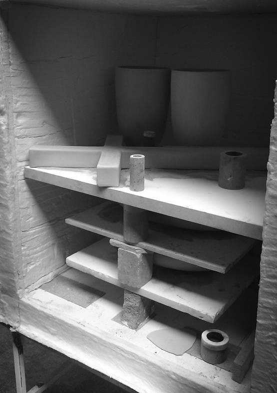 Ceramic in the oven