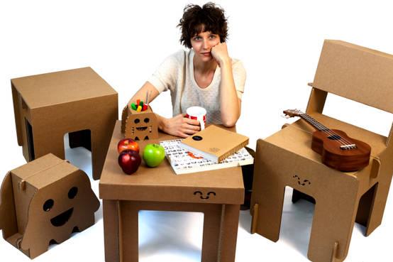 Nuevas tendencias de dise o muebles de cart n for Libros de diseno de muebles