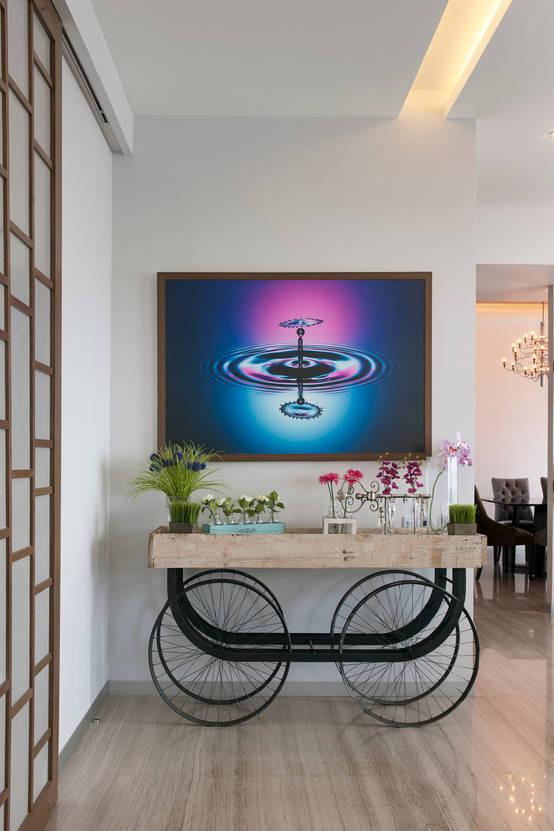 Un departamento moderno con una decoraci n espectacular for Departamento moderno decoracion